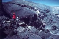 NE Crater, July 1977