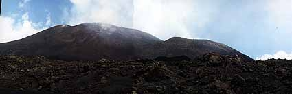 Summit cones of Etna