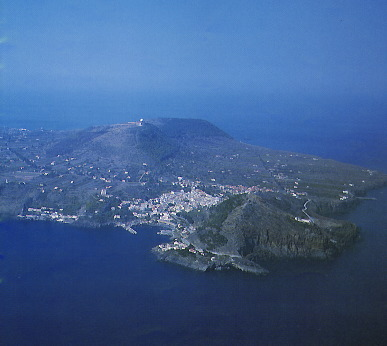Aerial view of Ustica