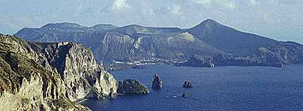 Vulcano from north