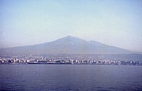 Etna seen from sea, 1997