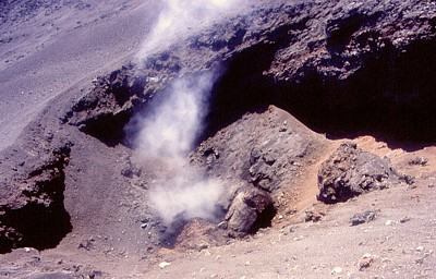 Fuming 2002 crater, Northeast Rift, July 2003